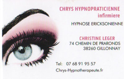CHRYS HYPNOPRATICIENNE